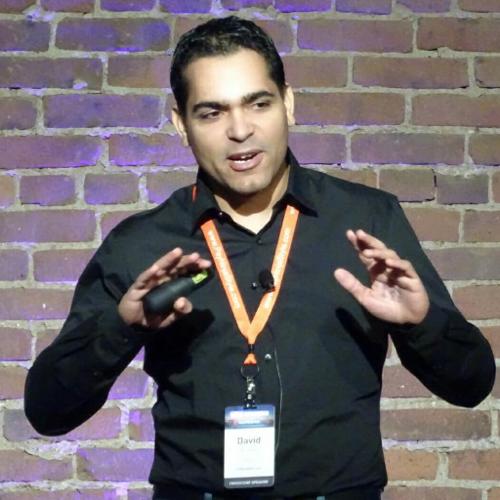 David de Boer op WordCamp Nederland 2016